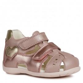 Geox sandały dla dziewczynki różowe B9251A-044AJ-C8252