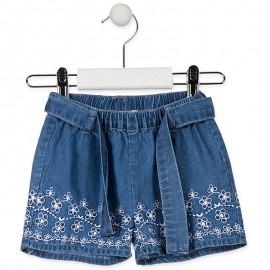 Losan Szorty dziewczęce jeans 918-9000AA-741