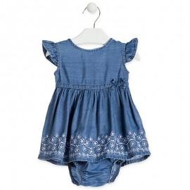 Losan Sukienka dziewczęca jeans 918-7015AA-741
