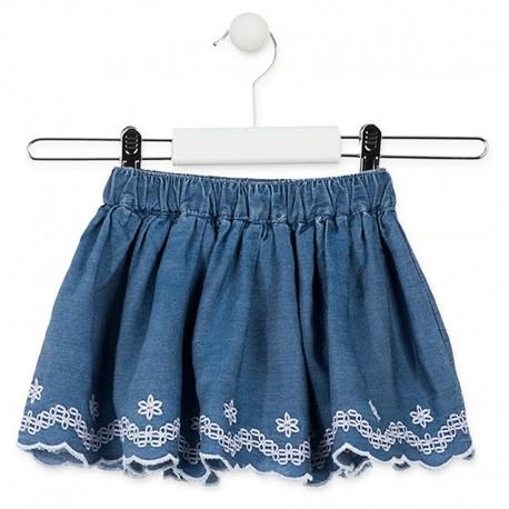 Losan Spódnica dla dziewczynki jeans 916-7062AA-741