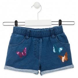 Losan szorty dziewczęce jeans 916-6018AA-741