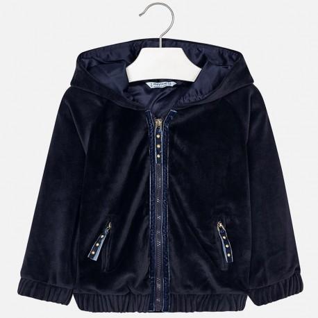 Mayoral 4423-19 Bluza dziewczęca kolor granatowy