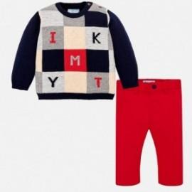 Mayoral 2586-81 sweter ze spodniami dla chłopaka granat