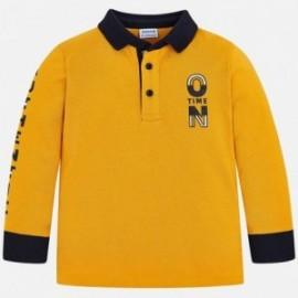 Mayoral 4112-10 Koszulka polo chłopięca żółta