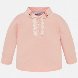 Mayoral 2122-31 Koszulka polo dziewczęca różowa