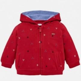 Mayoral 2492-24 Bluza chłopięca z kapturem czerwona