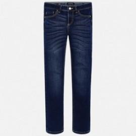 Mayoral 516-66 Spodnie jeans slim fit chłopięce granat