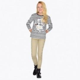 Mayoral 7534-20 Spodnie dziewczęce długie beż