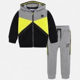 Mayoral 4802-92 Dres dziecięcy dla chłopca spodnie i bluza żółty