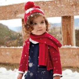 Mayoral 2336-45 Sweter dziewczęcy kolor czerwony