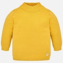 Mayoral 316-30 Sweter półgolf dziewczęcy żółty