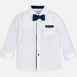 Mayoral 4138-94 Koszula chłopięca z muszką biała
