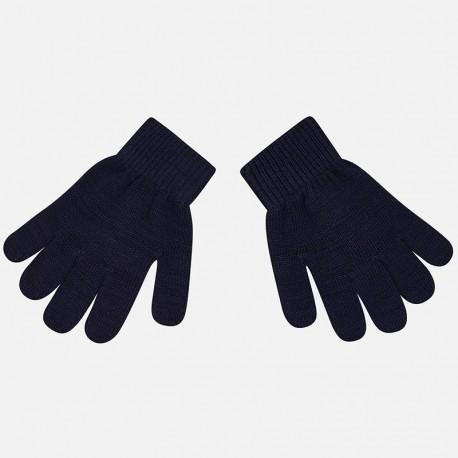 Mayoral 10476-53 rękawiczki dziecięce kolor granat