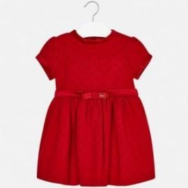 Mayoral 4950-28 Sukienka dziewczęca kolor czerwony