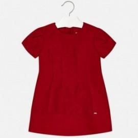 Mayoral 4944-58 Sukienka dziewczęca czerwona