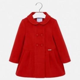Mayoral 2480-51 Płaszcz dziewczęcy czerwony