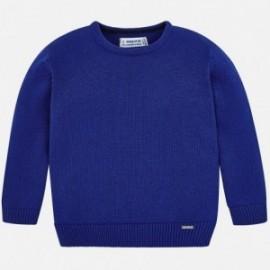 Mayoral 311-42 Sweter chłopięcy niebieski