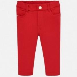 Mayoral 560-60 Spodnie dziewczęce czerwone