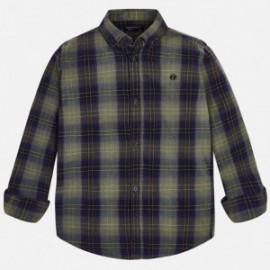 Mayoral 7138-46 Koszula chłopięca w kratę beż
