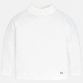 Mayoral 316-32 Sweter półgolf dziewczęcy krem