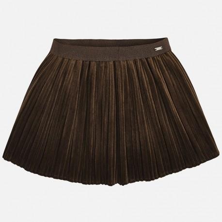 Mayoral 4920-80 Spódnica dziewczęca kolor brązowa
