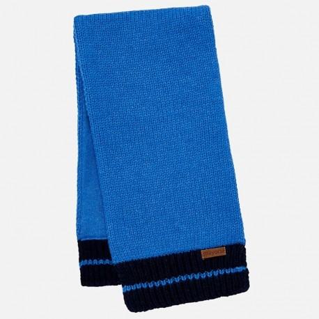 Mayoral 10444-36 Szalik chłopięcy ciepły niebieski