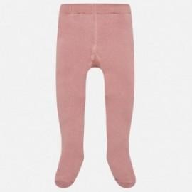 Mayoral 10451-38 Rajstopy dziewczęce kolor róż
