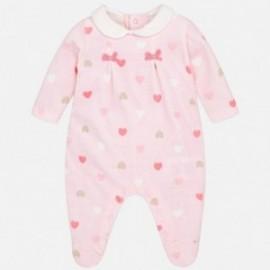 Mayoral 2762-20 Piżama serduszka kolor Róż.baby