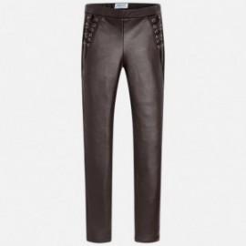 Mayoral 7532-42 Spodnie dziewczęce kolor brązowy