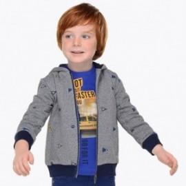 Mayoral 4407-60 Bluza z haftem chłopięca popiel