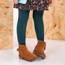 Mayoral 10497-65 Rajstopy dziewczęce kolor zielony