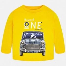 Mayoral 2012-62 Koszulka z nadrukiem chłopięca żółta