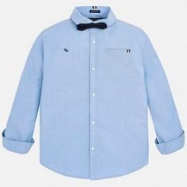 Mayoral 7136-49 Koszula chłopięca z muszką niebieska