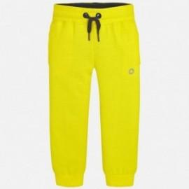 Mayoral 725-24 Spodnie dresowe chłopięce żółte