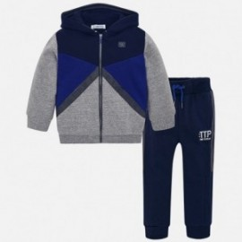 Mayoral 4802-94 Dres dziecięcy dla chłopca spodnie i bluza granat