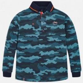 Mayoral 7104-86 Koszulka polo moro chłopięca niebieski