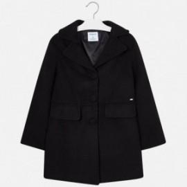 Mayoral 7478-37 Płaszcz dziewczęcy czarny