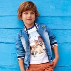 Mayoral 3425-5 Kurtka przejściowa jeans chłopięca niebieska