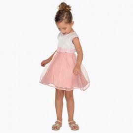 Mayoral 3911-92 Sukienka dziewczęca różowa