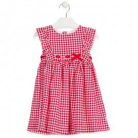 Losan Sukienka dla dziewczynki biała 916-7785AA-766