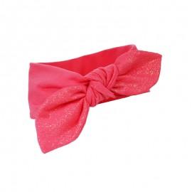 Pupill Opaska dziewczęca z kokardą czerwona Poppy