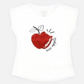 Losan T-shirt na ramiączkach dziewczęcy biały 916-1211AA-001