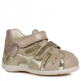 Geox sandały dla dziewczynki beżowe B9251A-044AJ-C0303