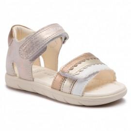 Geox sandały dla dziewczynki złote B921YB-0MANF-C7018
