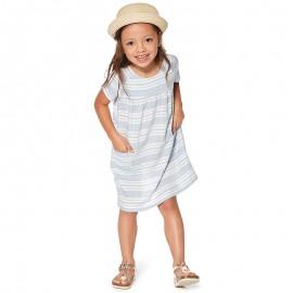Losan Sukienka dziewczęca z krótkim rękawem niebieska 916-7789AA-709