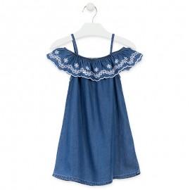 Losan Sukienka dziewczęca jeans niebieska 916-7002AA-741