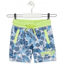 Losan Bermudy chłopięce w palmy 915-6011AA-085