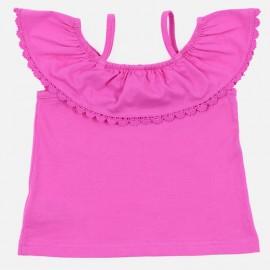 Losan T-Shirt dziewczęcy na ramiączkach róż 916-1014AA-642