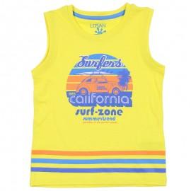 Losan T-Shirt chłopięcy na ramiączkach żółty 915-1211AA-011