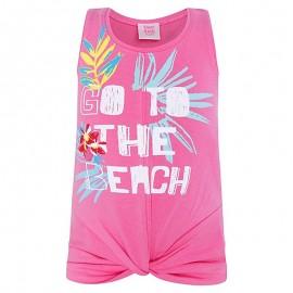 Koszulka dziewczęca na ramiączkach róż Tuc Tuc 49825-1